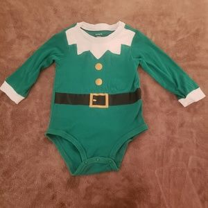 Toddler Christmas Elf Onesie